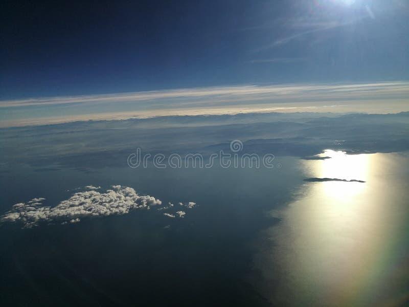 Titicaca impressionante do lago fotografia de stock royalty free