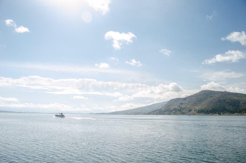 Titicaca jezioro zdjęcie stock