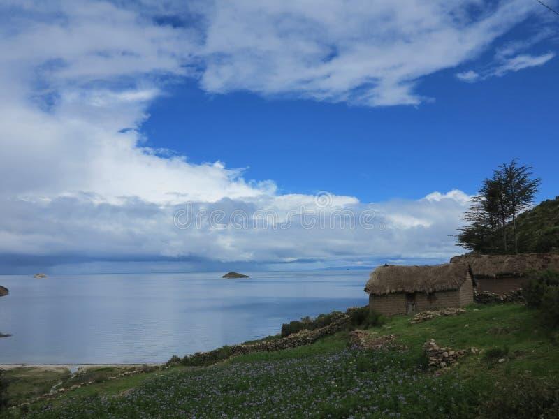Download Titicaca lake, bolivia stock photo. Image of house, landscape - 39510400