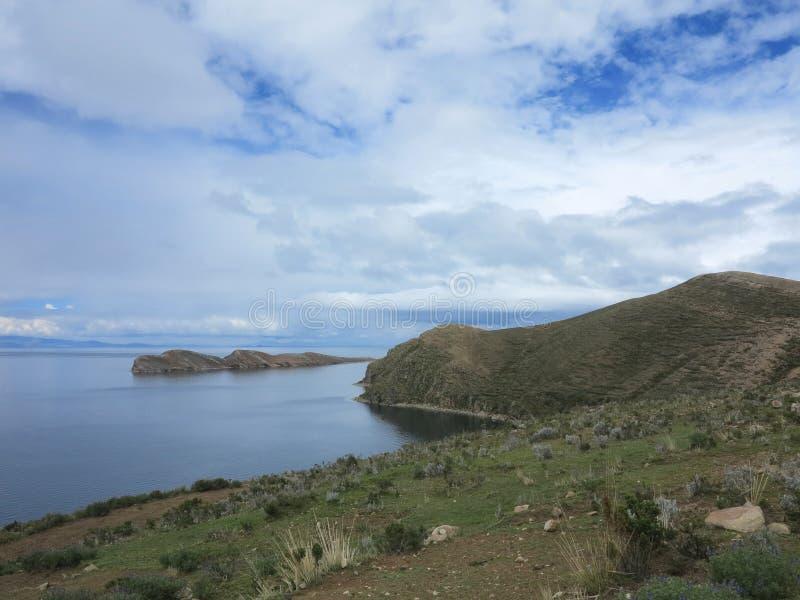 Titicacameer, Bolivië stock afbeeldingen
