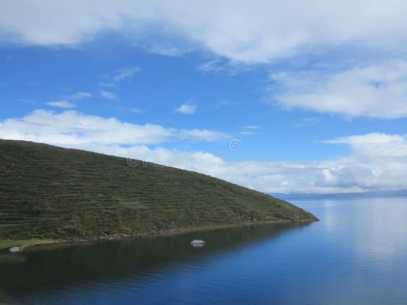 Titicacameer, Bolivië stock fotografie