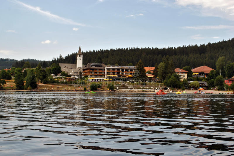 Titisee - Black Forest royalty free stock images