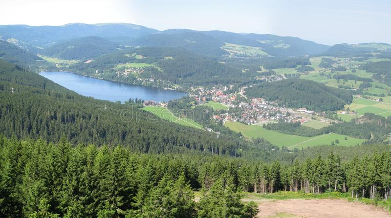Titisee lake, Black forest, Germany royalty free stock images