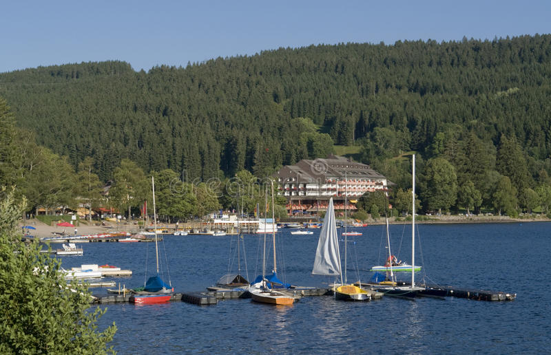 Titisee stock photography