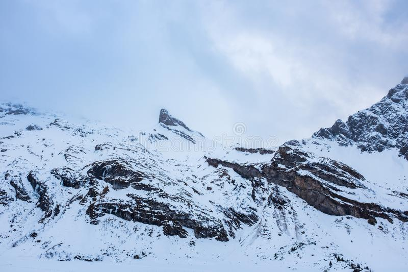 Titlis góra w Szwajcaria fotografia stock