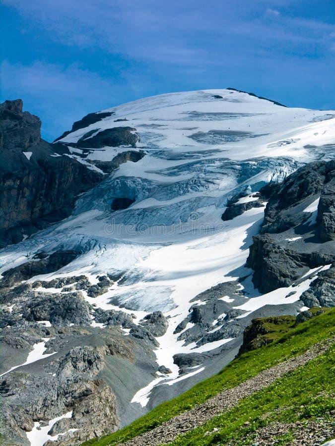 Titlis Glacier in Switzerland royalty free stock image