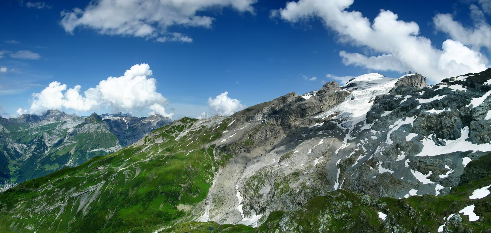 Titlis in Switzerland Alps royalty free stock image