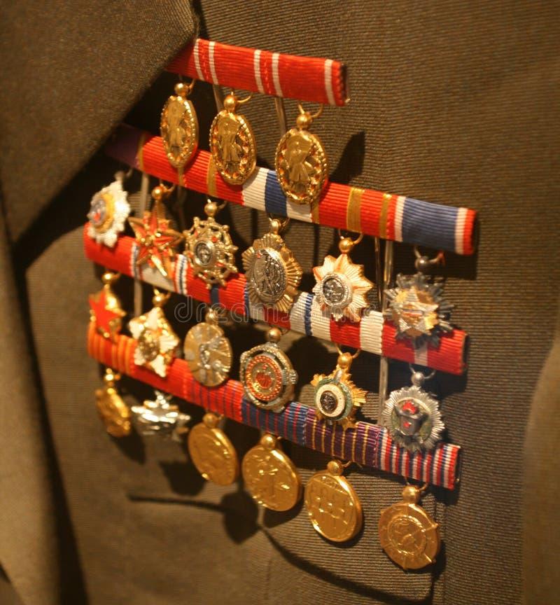 Tito/μετάλλια στοκ φωτογραφίες