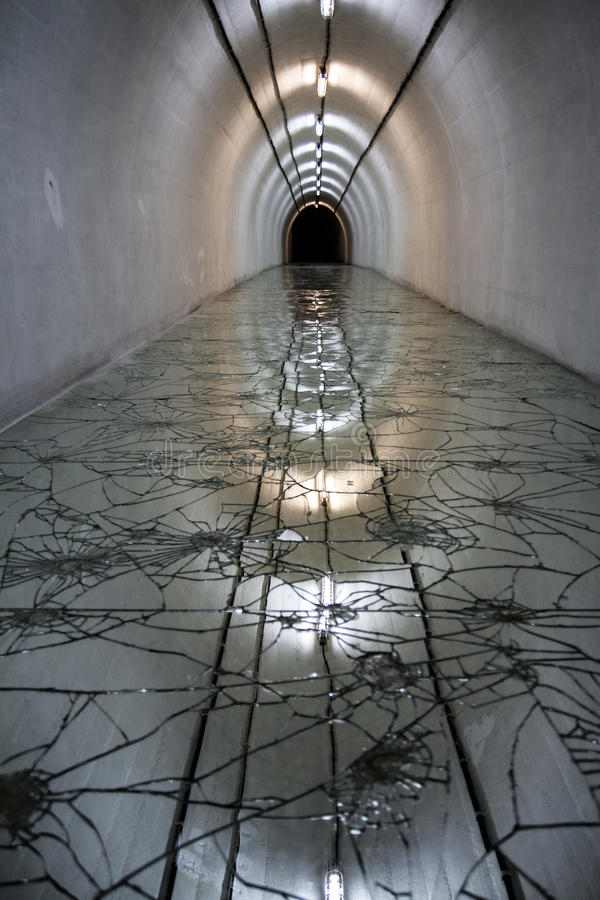 Tito Bunker em Bósnia imagens de stock