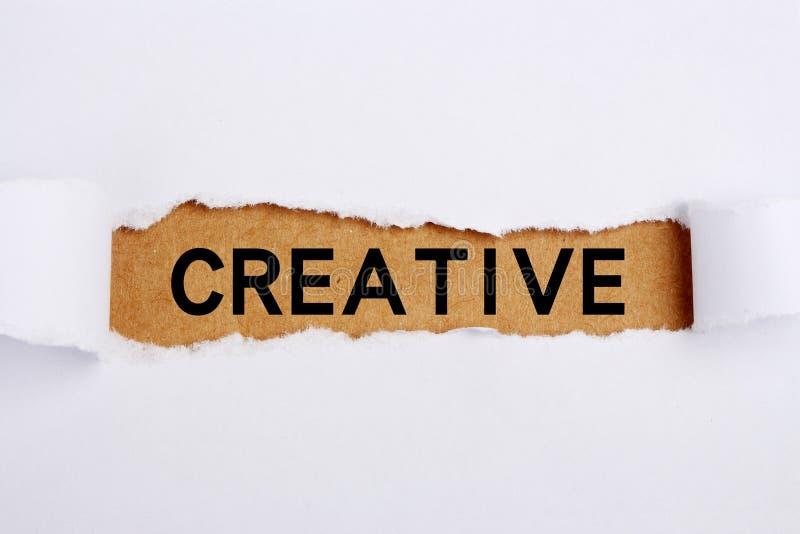 Titolo creativo fotografia stock