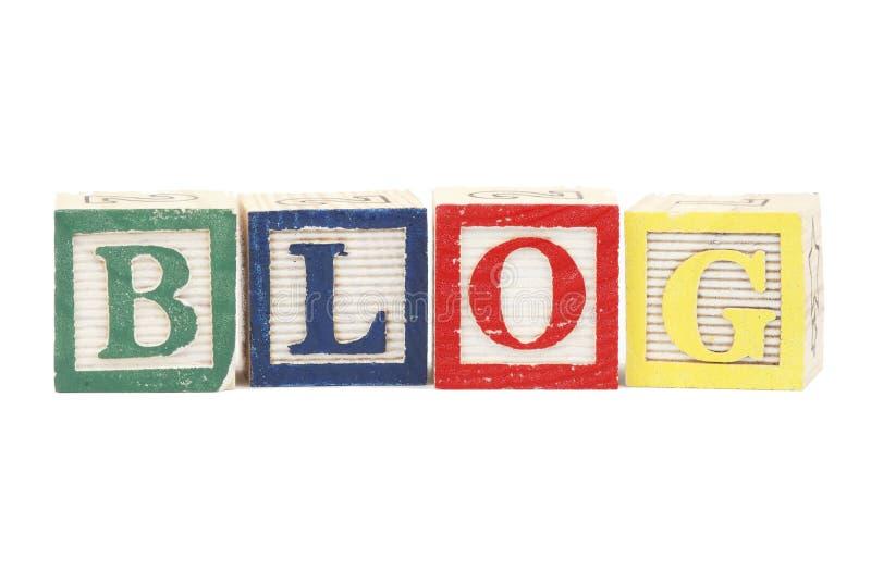 titre de blog photographie stock