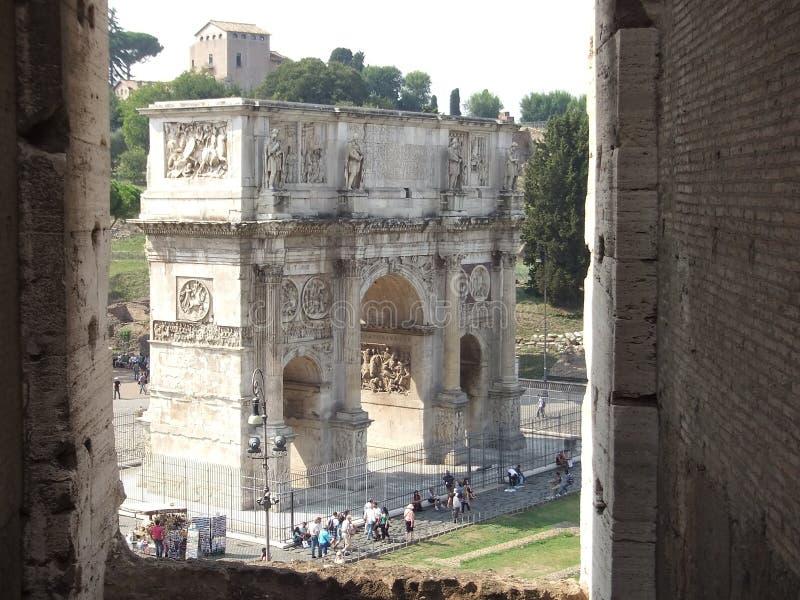 titus της Ρώμης αψίδων στοκ εικόνες με δικαίωμα ελεύθερης χρήσης