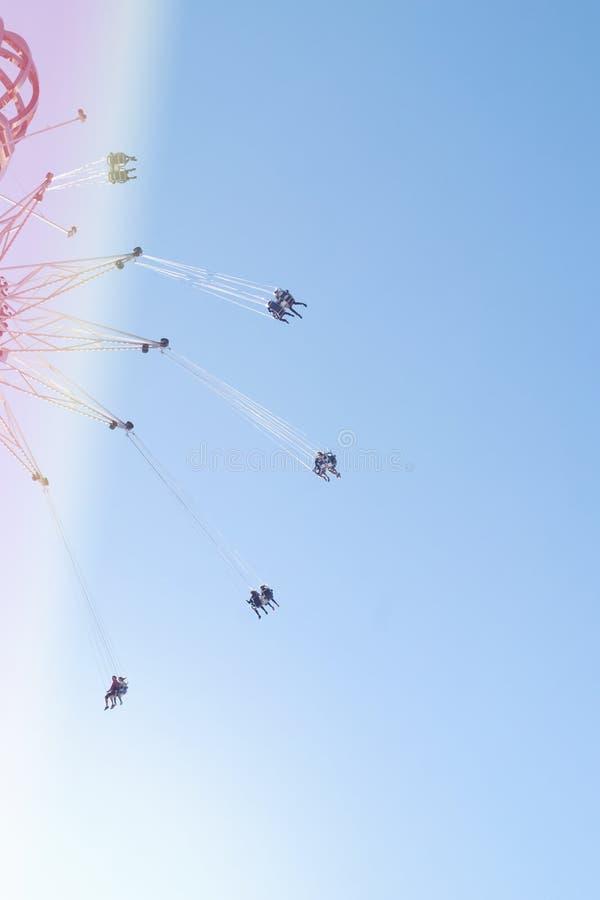 Tivoli Grona Lund é um parque de diversões em Éstocolmo, Suécia imagem de stock royalty free