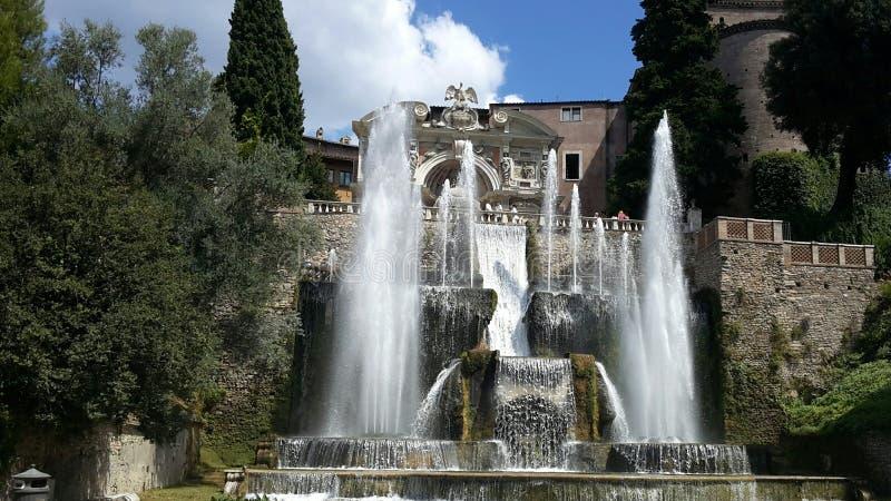 Tivoli Lazio royaltyfri foto