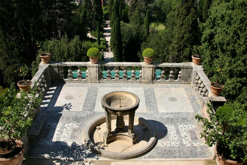 Tivoli. Villa d Este images libres de droits