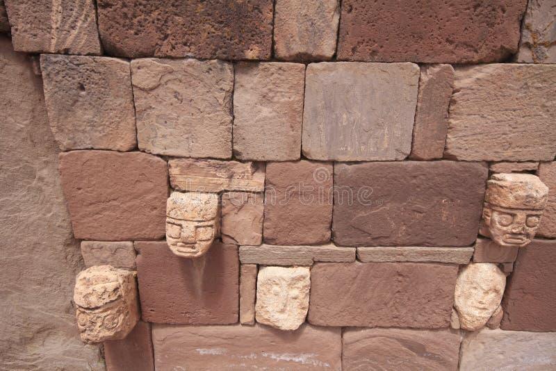 Tiwanaku Bolívia foto de stock royalty free