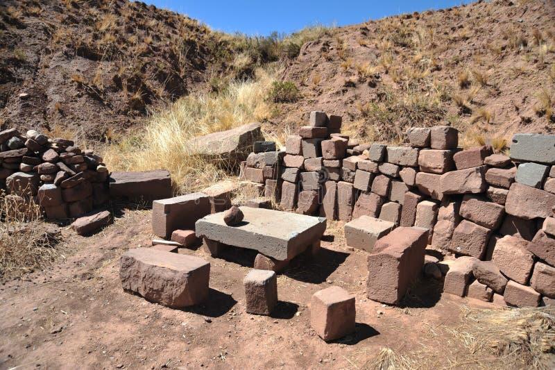 Tiwanaku stock image