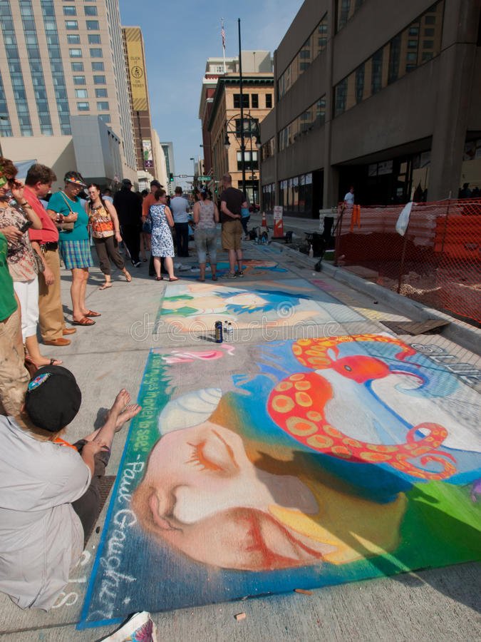 Tiza Art Festival imagenes de archivo