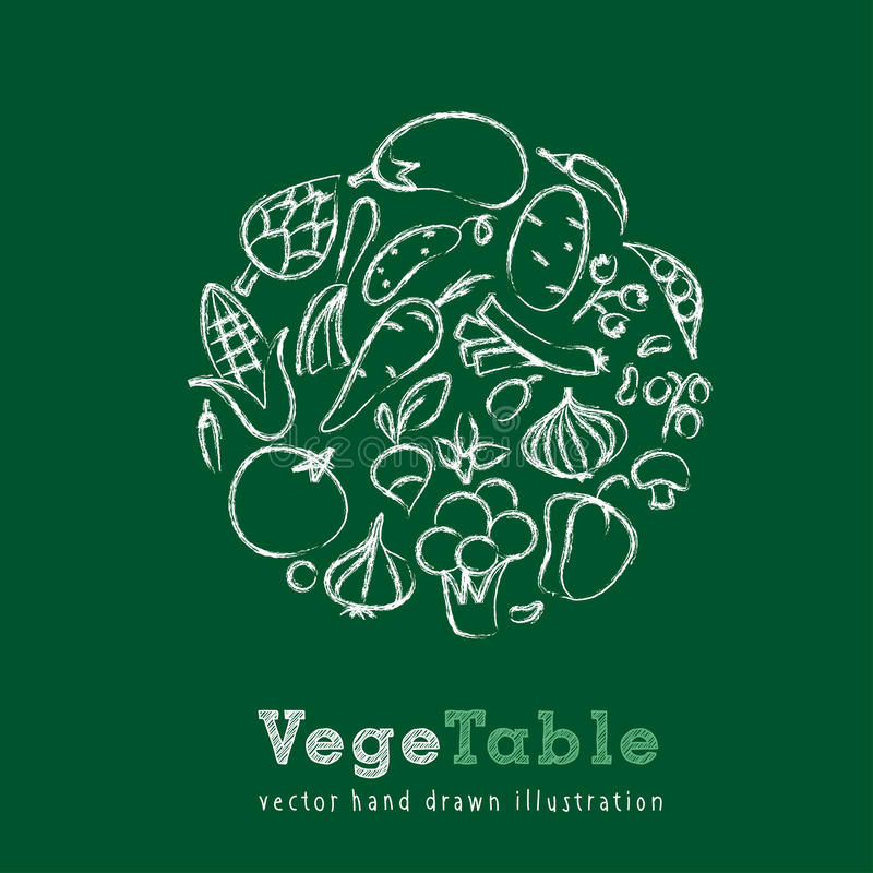 Tiza vegetal libre illustration