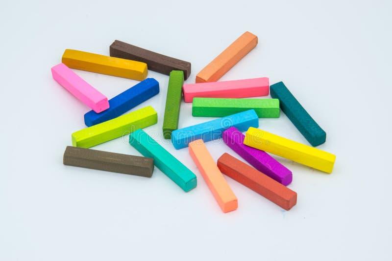Tizas coloridas foto de archivo