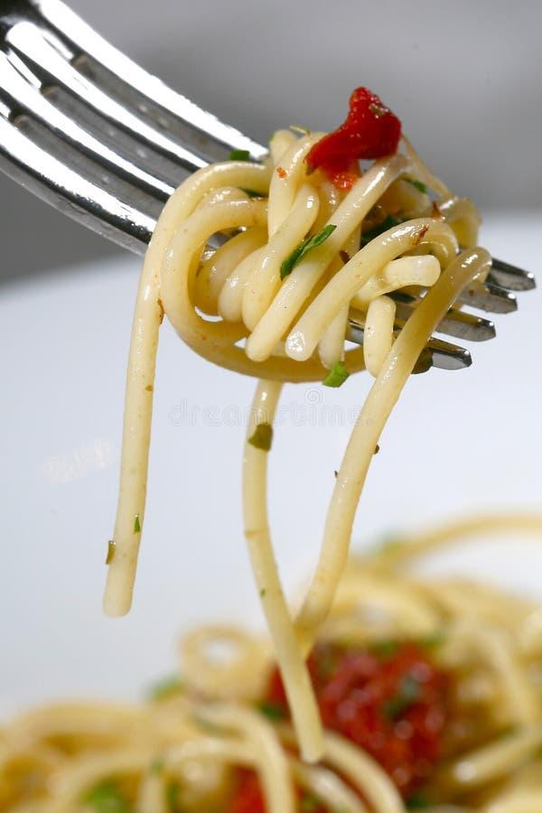 tjänad som pasta arkivfoton