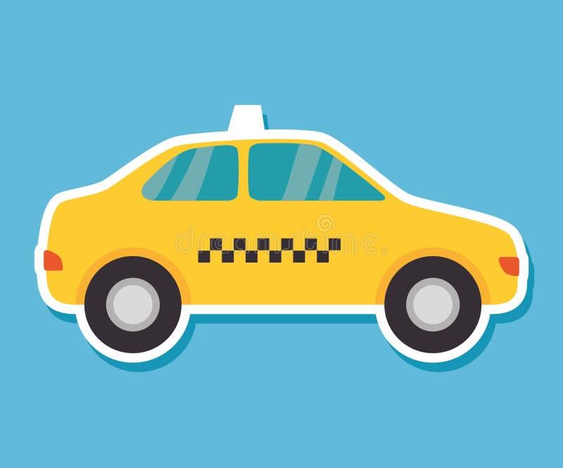 Tjänste- allmänhet för taxi vektor illustrationer