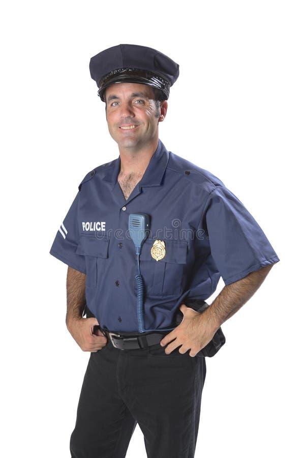 tjänstemanpolis royaltyfria bilder
