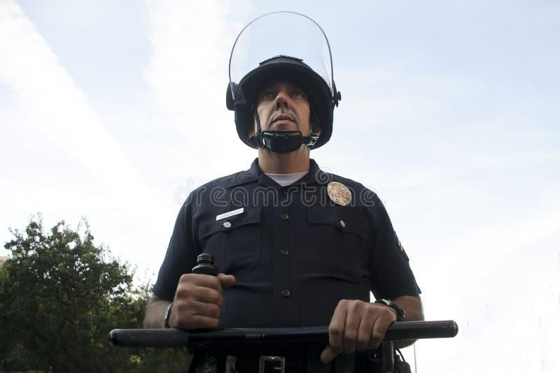 tjänstemanpolis arkivbilder
