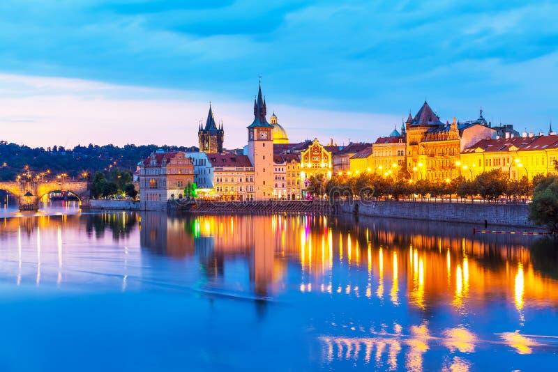 tjeckisk gammal prague republiktown royaltyfria foton