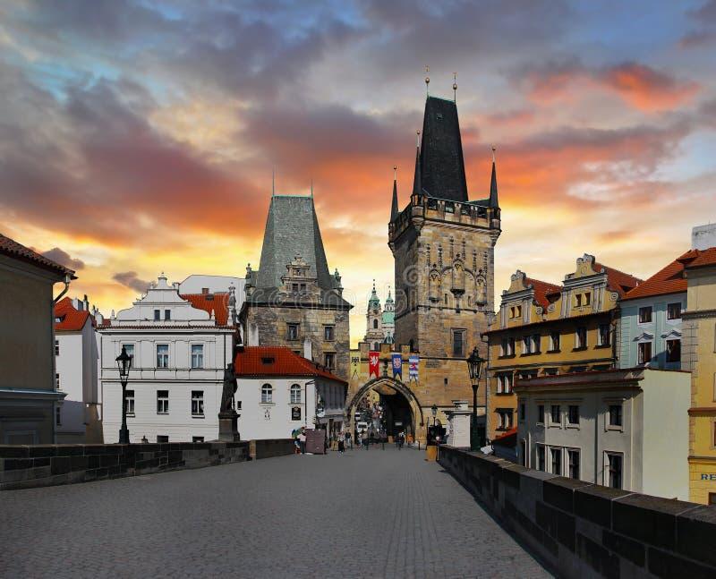 tjeckisk prague republik arkivfoto