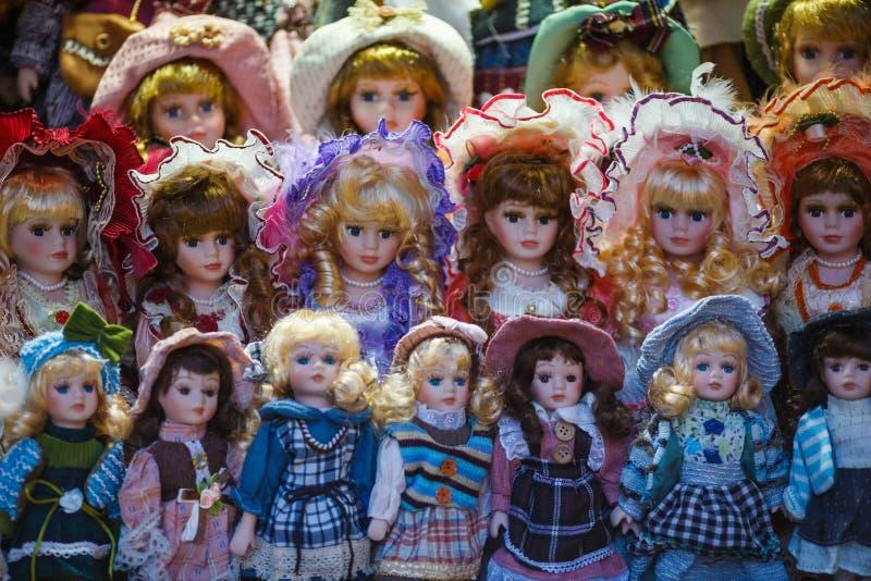 Tjeckiska dockor fotografering för bildbyråer