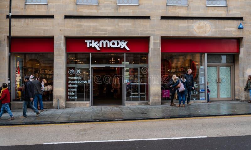 TK Maxx Bath fotos de archivo libres de regalías