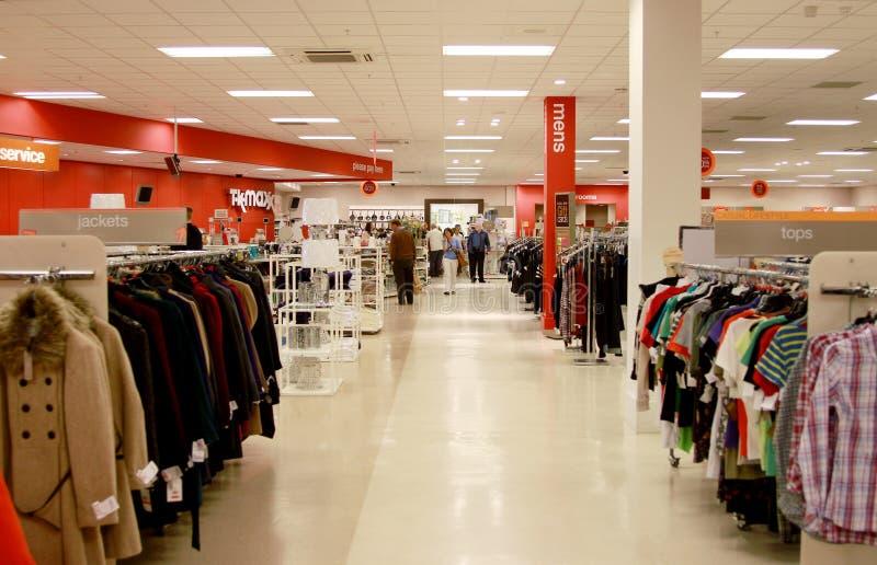 TK Maxx Shop Interior Editorial Photo
