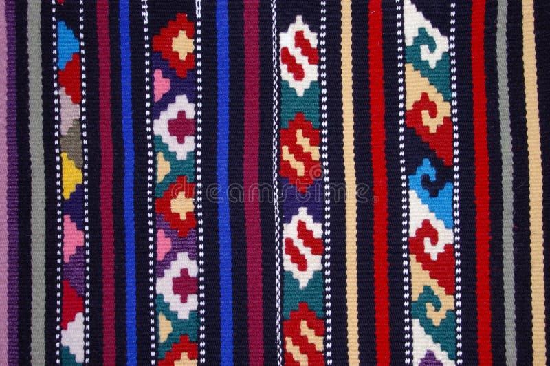 Tkanica1. Close up of traditional Croatian Tkanica texture background royalty free stock photography