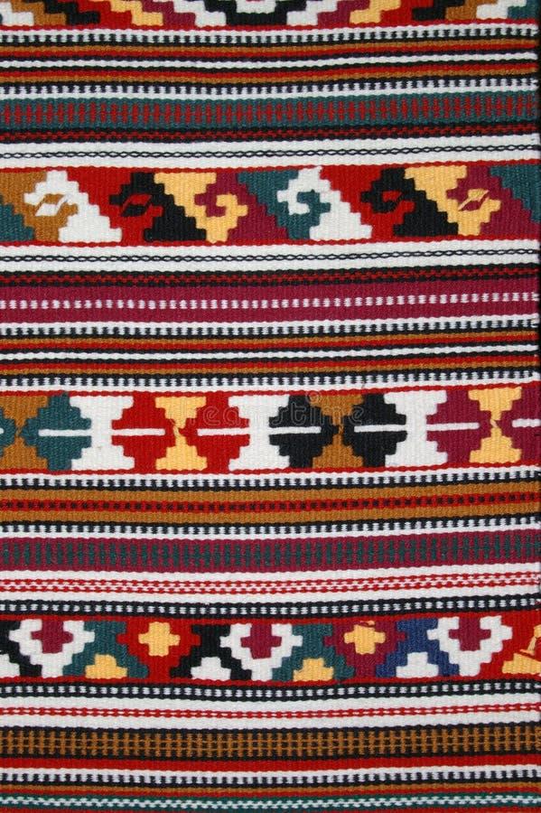 Tkanica2. Close up of traditional Croatian Tkanica texture background stock photography