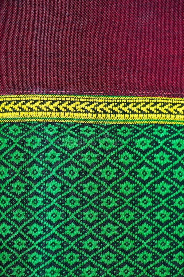 Tkanina koloru Antykwarska handwoven tkanina, naturalne barwidło tkaniny, piękni kolory, piękne tkaniny, stary mod tkanin jedwab  obrazy royalty free