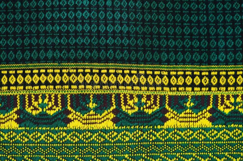 Tkanina koloru Antykwarska handwoven tkanina, naturalne barwidło tkaniny, piękni kolory, piękne tkaniny, stary mod tkanin jedwab  obraz stock