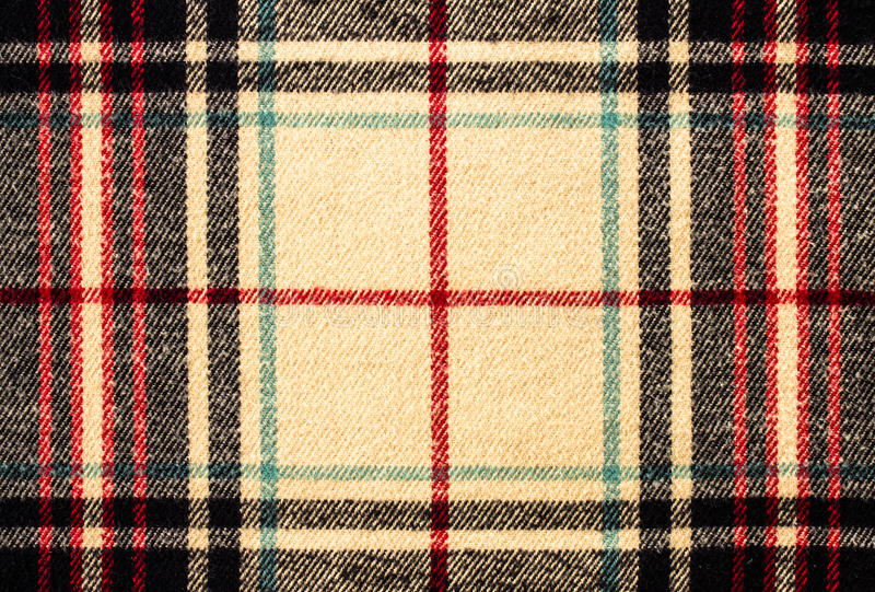 Tkanina tartanu szkockiej kraty wzór jako tło zdjęcia stock