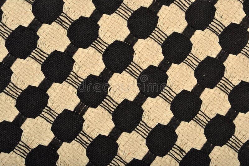 Tkanina z tkan? ornament tekstur? fotografia stock
