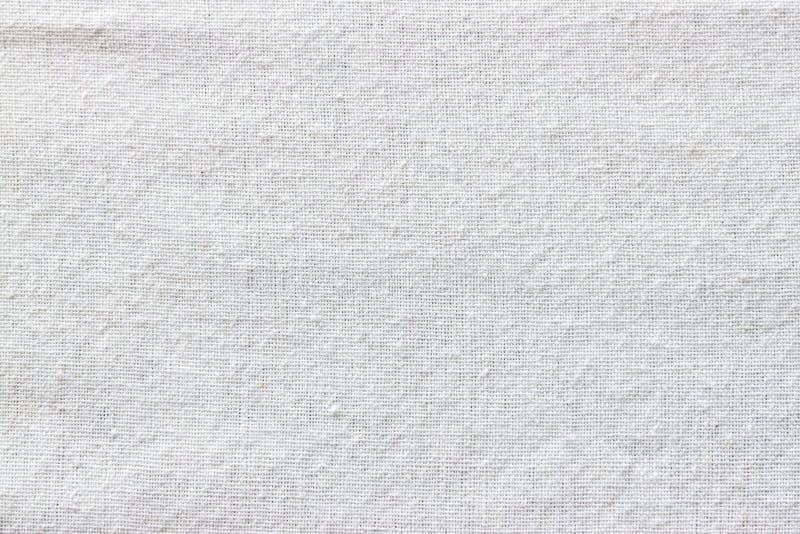 Tkaniny biały tekstura zdjęcie royalty free