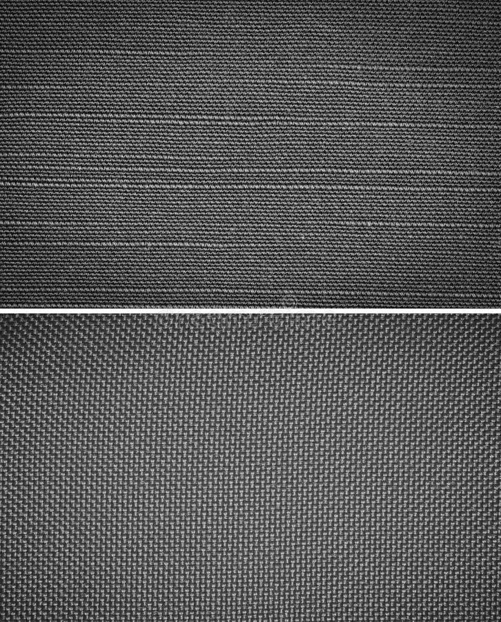 Tkaniny popielata tekstura obrazy stock