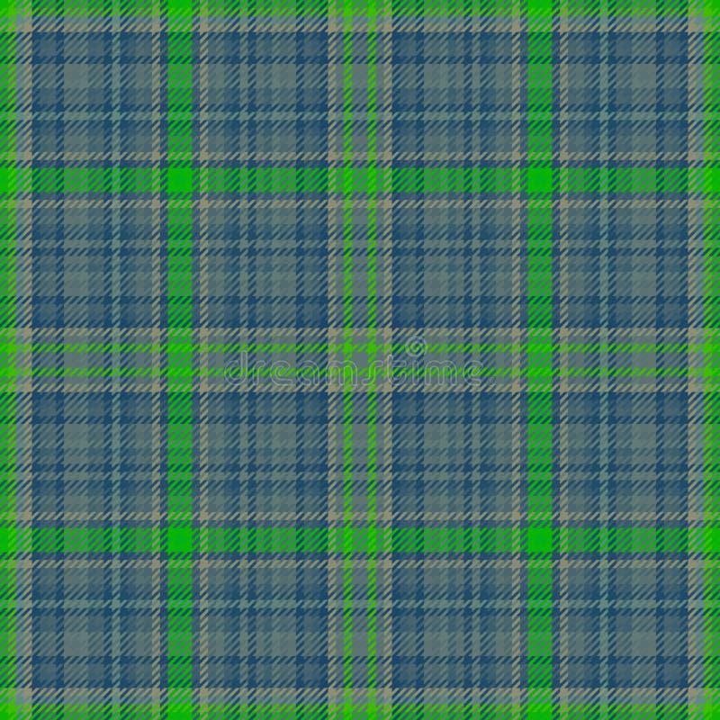Tkaniny szkockiej kraty tartanu szkocki płótno checkered ilustracji