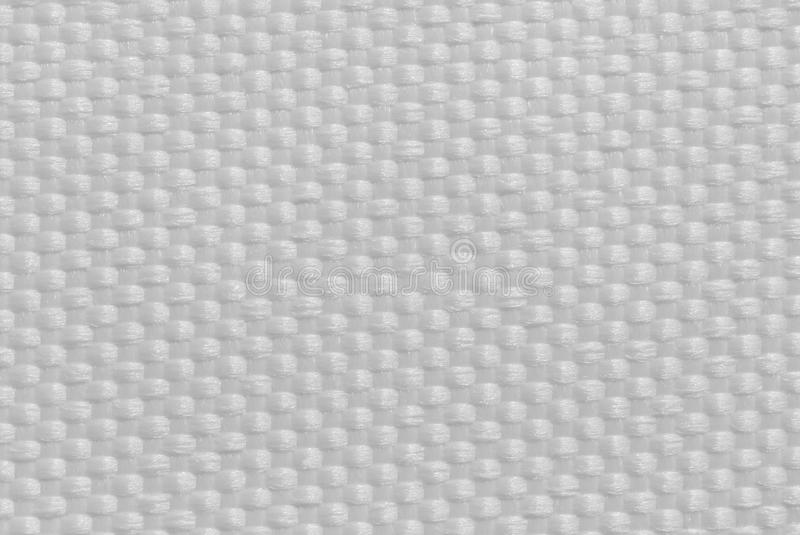 Tkaniny tekstury biel fotografia stock