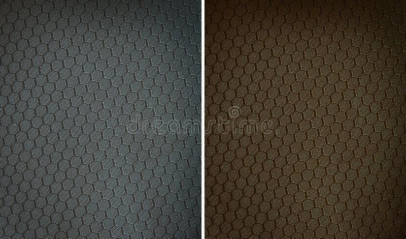 Tkaniny tekstury nylon obrazy royalty free