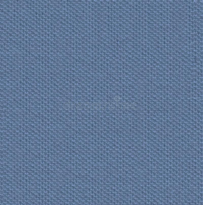 Tkaniny tekstury 3 rozproszona bezszwowa mapa Lekki stalowy błękit fotografia royalty free