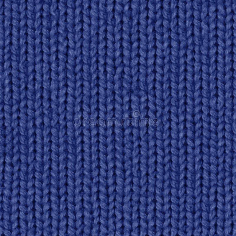 Tkaniny tekstury 7 rozproszona bezszwowa mapa Marynarki wojennej błękit zdjęcia royalty free