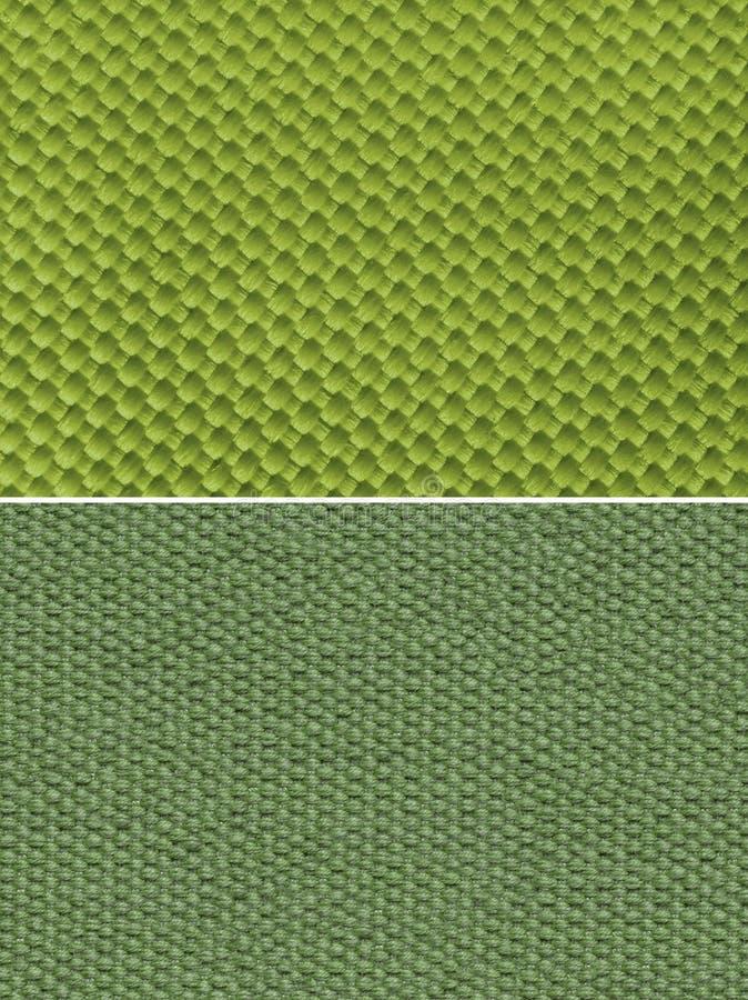 Tkaniny tekstury zieleń obraz royalty free