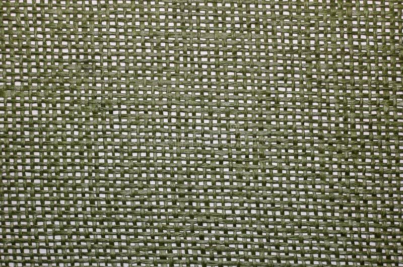 Tkaniny tekstury zieleń obraz stock