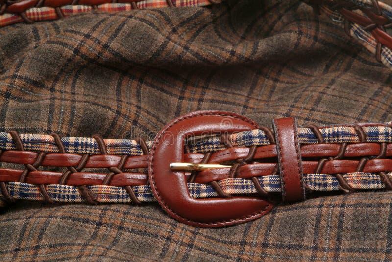tkaniny zatrzasku od pasa zdjęcie royalty free