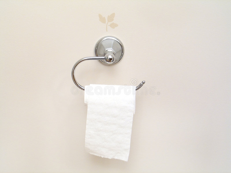 tkanka w łazience obraz stock